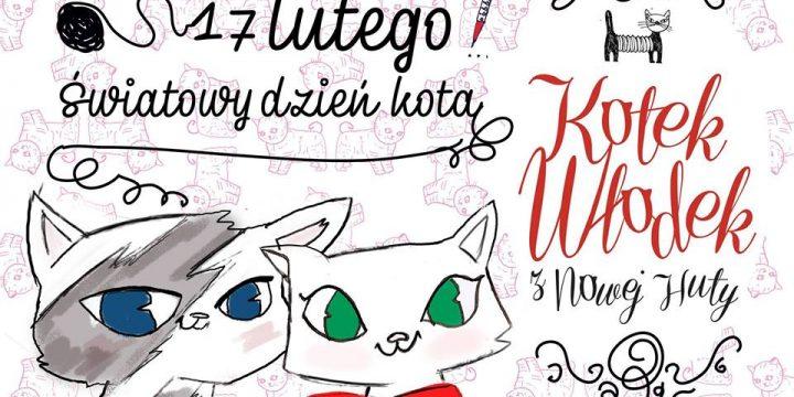 Dzień Kota z kotkiem Włodkiem w NOWA Księgarnia